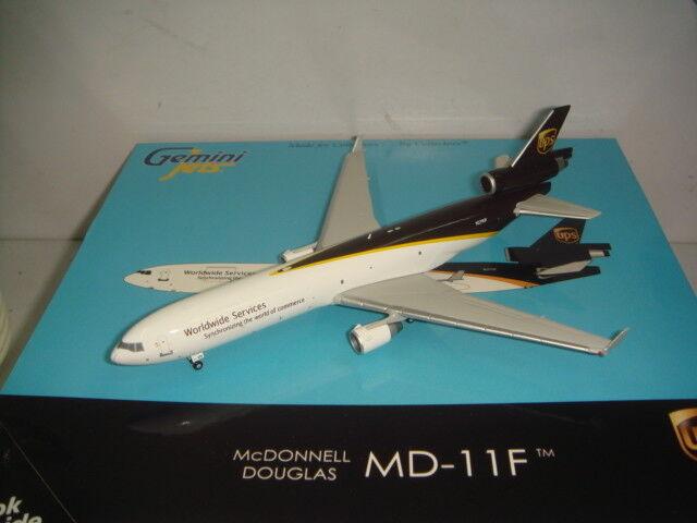 Gemini Gemini Gemini Jets 400 United Parcel Service UPS MD-11F  2000s Color  1 400 998e04