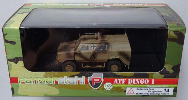 PANZERSTAHL 88024 Bundeswehr ISAF ATF Dingo 1 Fertigmodell in 1:72