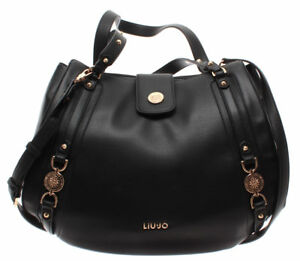 Borsa Donna Liu Jo Shopping Bag Large It's me Nero 218