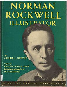 Norman-Rockwell-Illustrator-by-Arthur-Guptill-1946-1st-Ed-Rare-Vintage-Book