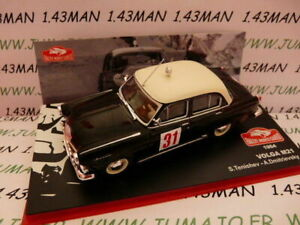 voiture-1-43-IXO-altaya-Rallye-Monte-Carlo-VOLGA-M21-1964-Tenishev