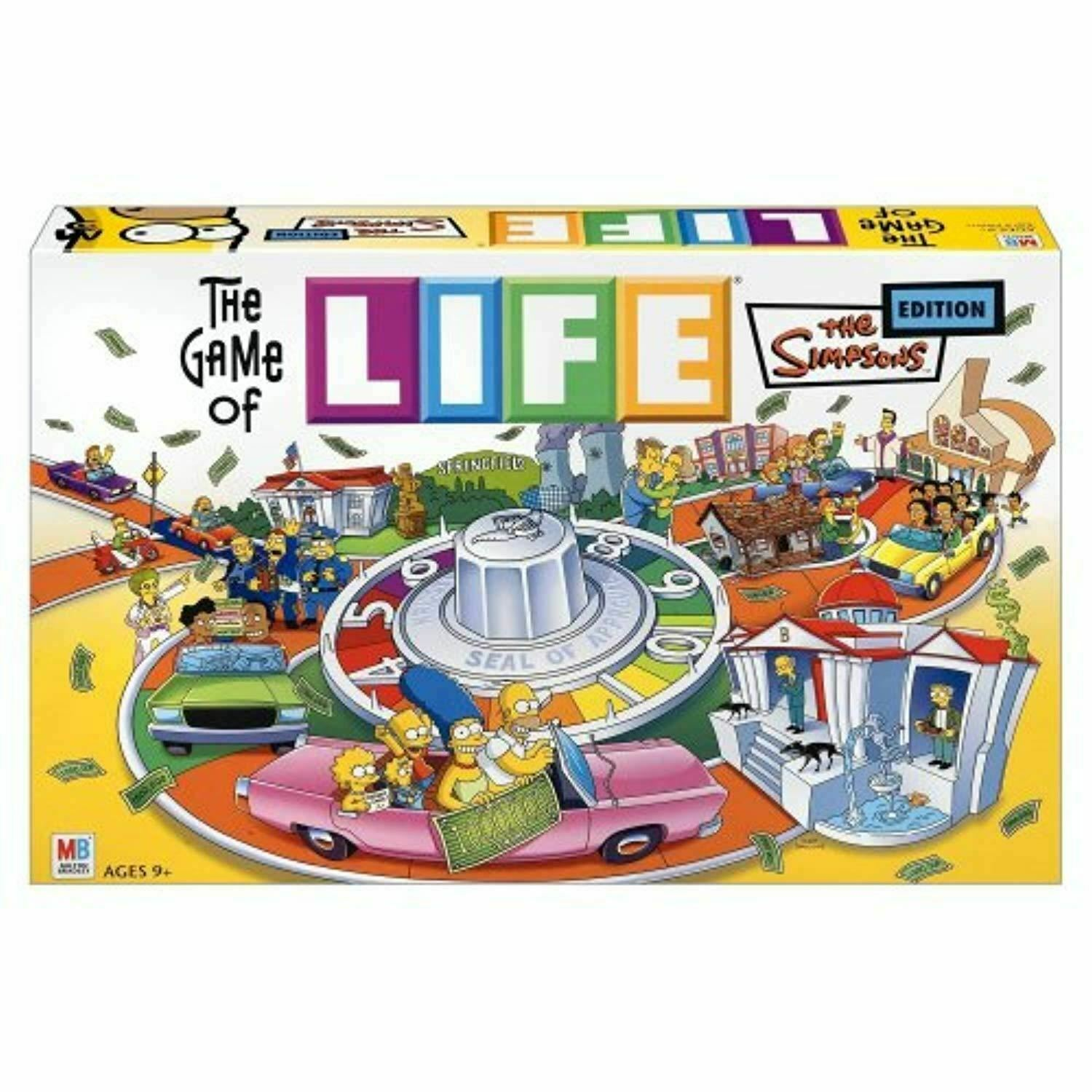 Hasbro Game of Life Simpsons Edition