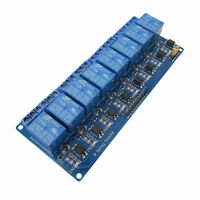 8 Channel DC 5V Relay Shield Module for Arduino Raspberry Pi DSP AVR PIC ARM DS