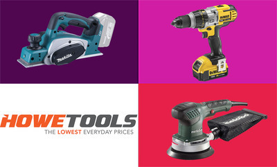 15% off Bosch, Dewalt & more