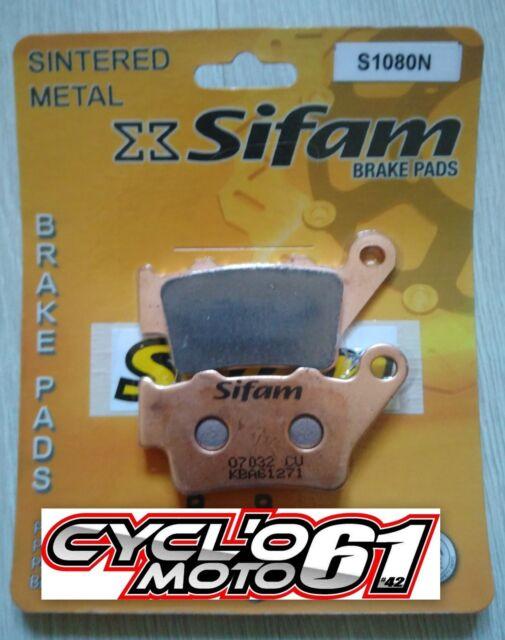 Pastillas de freno trasero Sifam Ducati Sport 1000 S 2007 à 2010 (S1080N)