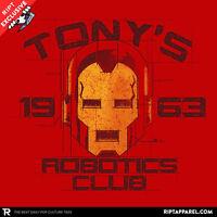 Iron Man Tony Stark Avengers Age Of Ultron Marvel Exclusive Mens T-shirt (m-2xl)