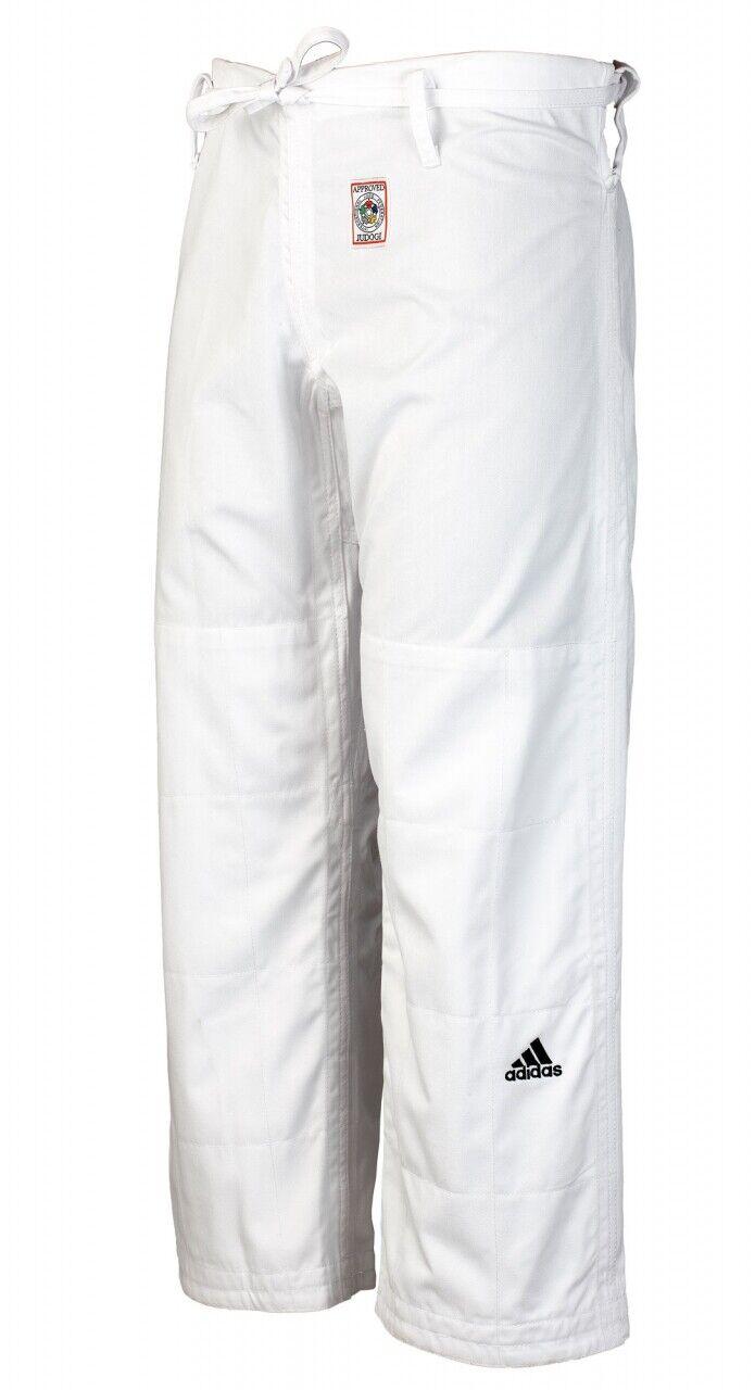 Adidas Judo Hose Hose Hose IJF weiß JT275  Ju Jutsu Wing Tsun BJJ Judohose 549f2f
