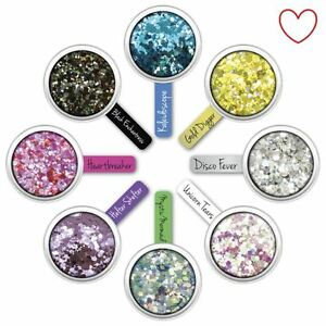 Paint-Glow-Chunky-Glitter-Flakes-Face-Hair-Shimmer-Sparkle-Festival-Party