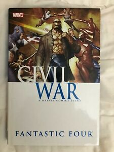 Civil-War-Fantastic-Four-by-Straczynski-Wells-Hudlin-Hardcover