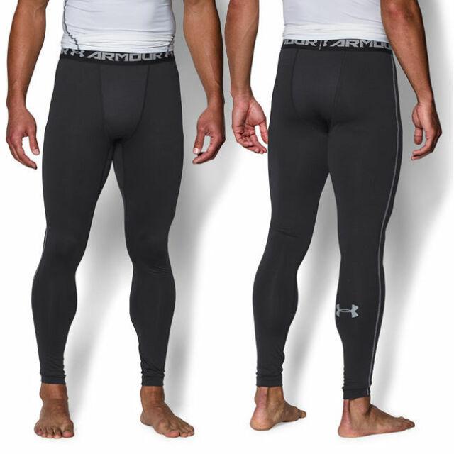 08e54af4b30c7 Under Armour Mens UA ColdGear Armour Compression Leggings New 1265649 Size L