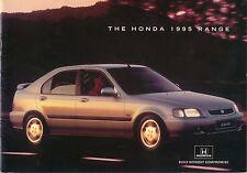 Honda Range Civic CRX Accord Prelude Legend NSX 1995 original Sales Brochure
