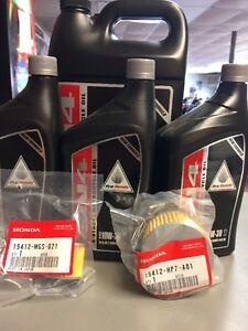 2016-2017-2018-HONDA-Pioneer-1000-Complete-Honda-Oil-Change-DCT-Filter-Change