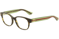 2aa7cea1b45 Gucci Eyeglasses GG0040OA GG 0040OA 002 Havana Green Full Rim Optical Frame  53mm