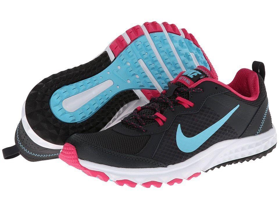 Nike Wild Trail Women's shoes 643074-001 NIB Authentic US 6 6 6 - UK 3.5 - EUR 36.5 5663a3
