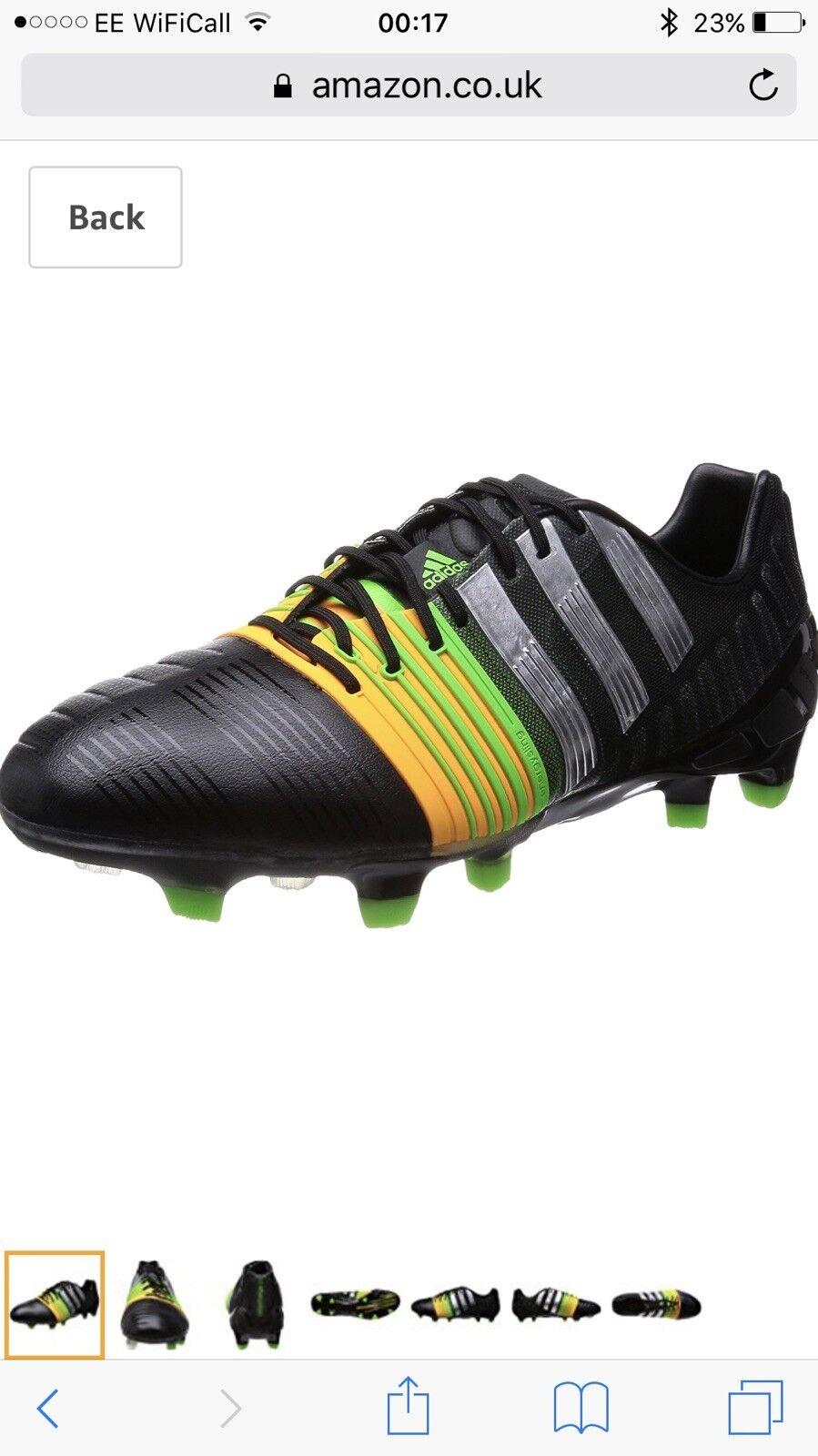NUOVO-Adidas Nitrocharge 1.0 FG Scarpe da Calcio  prezzo consigliato  calcio da uomo misura 7
