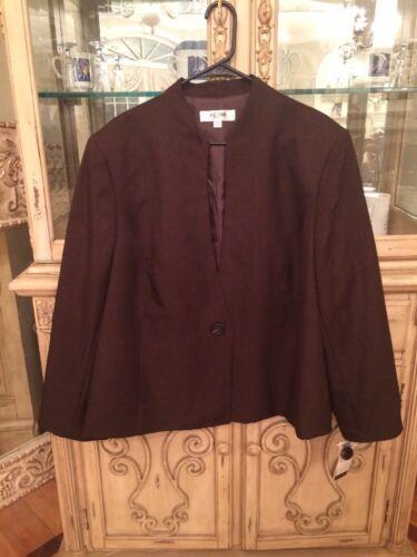 Jones Size Studio Brown Jacket 24w r1rSX