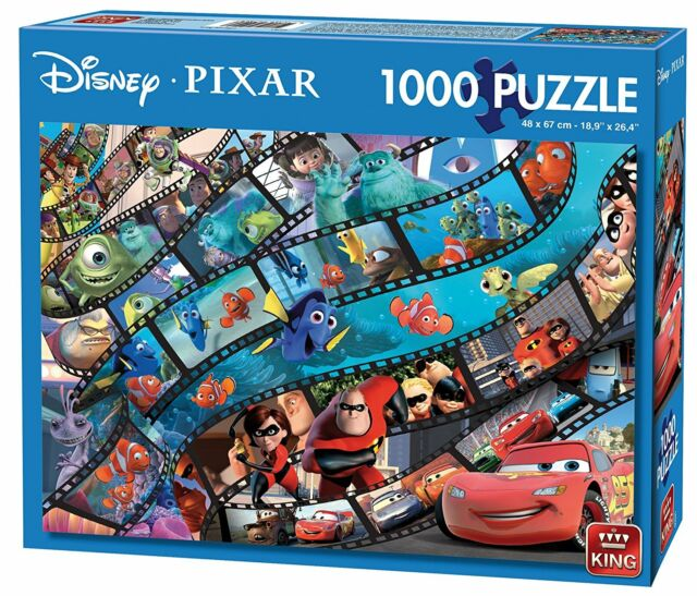 1000 Piece Disney Pixar Movie Magic Cartoon Characters Jigsaw Puzzles 05265