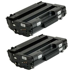 2-Pack-Black-High-Yield-Toner-For-Ricoh-Aficio-SP-3510SF-3500SF-3510DN-SP-3400HA