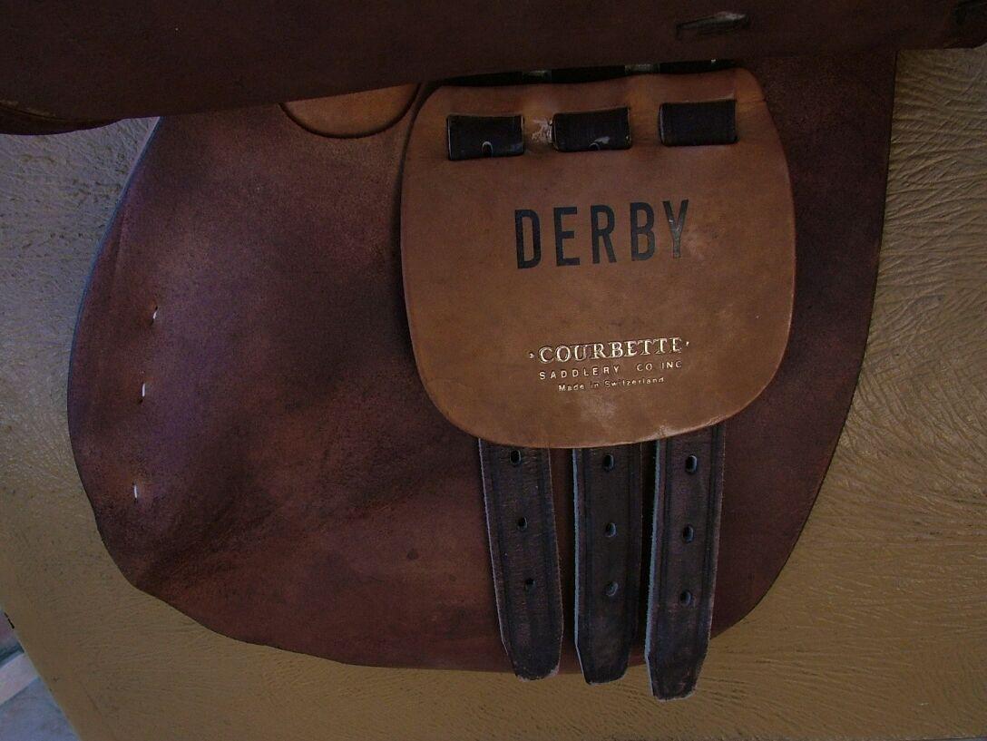 Sattel Sattel Sattel Englisch All Purpose Saddle Derby Courbette 17,5    | Schön geformt  13a895