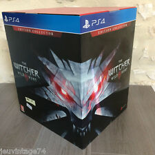 The Witcher 3 Wild Hunt Collector édition Ps4 Playstation Sealed New ed Français