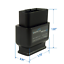 Veepeak OBDCheck BLE Bluetooth 4.0 OBD2 Scanner Adapter for iOS /& Android Car in