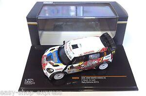 Mini-John-Cooper-Works-rallye-Wallonie-2013-1-43-IXO-VOITURE-DIECAST-RAM556