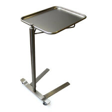 Mcm 760 Thumb Controlled Stainless Steel Mayo Stand 1263 X 1913 Tray New