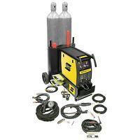 Esab Fabricator 252i Mig, Tig & Stick Welder With Cart & Spool Gun (w1004403)