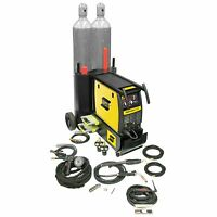 Esab Fabricator 252i Mig, Tig & Stick Welder With Cart & Spool Gun (w1004403) on sale