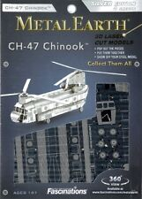 CH-47 Chinook Helicopter Metal Earth 3D Model Kit FASCINATIONS