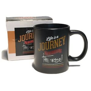 Life Is A Journey Enjoy The Ride Coffee Mug Tea Cup Life Quotes Collectors New 810709010886 Ebay