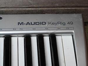 M-Audio KeyRig 49 MIDI Electronic Keyboard