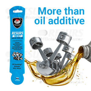 MOTOR-OIL-ADDITIVE-RESURS-NEXT-17g-CONCENTRATE-FORMULA-FREE-SHIPPING