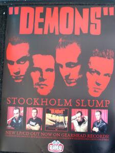 Demons-Stockholm-Promo-Poster-Gearhead-Records-Swedish-Garage-Punk-Stooges-MC5