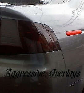 Precut Vinyl Tint Cover for 2004-2008 Acura TL Taillights 20/% Dark Smoke