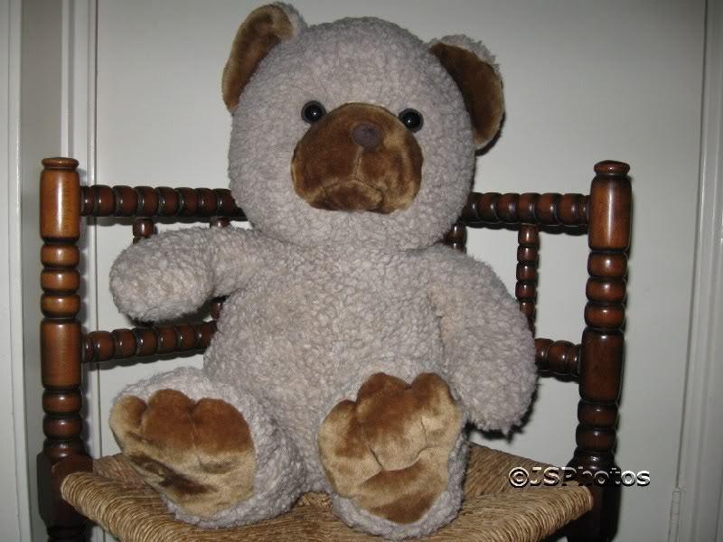 Jumbo Woolen Teddy Bear Over 2 Feet - Brooklyn Toy Co.