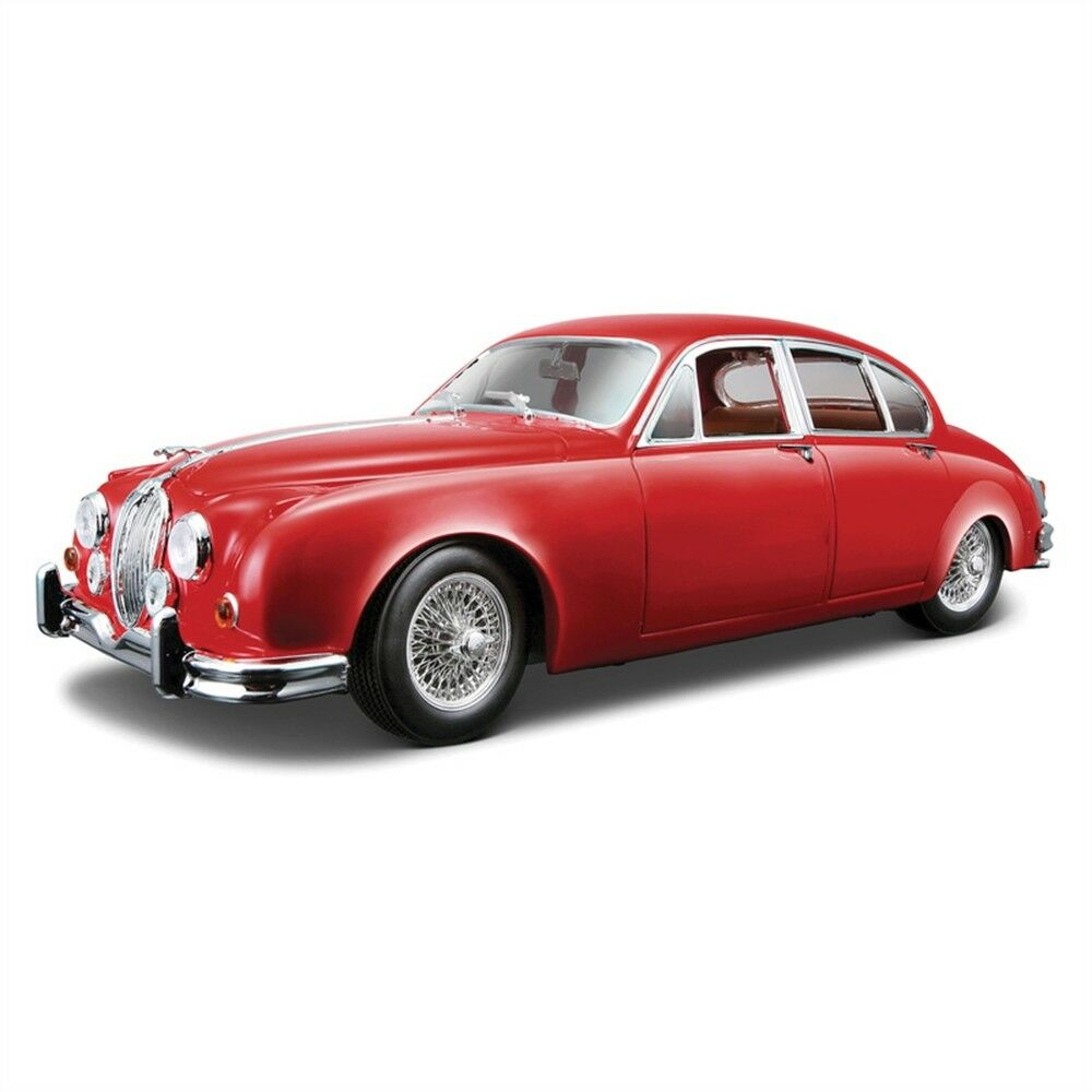 Bburago Jaguar Mark Ii Saloon 1959 Diecast Car (assorted Colours - Model Models