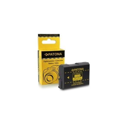 Batería Patona EN-EL14 Infochip para Nikon D5300 D5200Bargainfotos