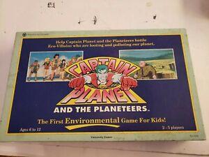 Vintage-Board-Game-Captain-Planet-COMPLETE-University-Games