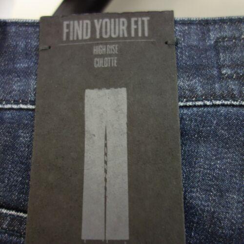 Drykorn Jeans Femmes Pantalon Culotte Day T w25 w26 w27 bleu High Waist NP 140 NEUF