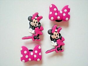 CLOG CHARM PLUG BUTTONS FIT KID ACCESSORIES SANDALS 4 MINNIE MOUSE