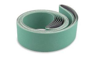 2 X 72 Inch 120 Grit Metal Grinding Ceramic Sanding Belts