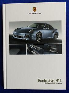 Porsche-Exclusive-911-Carrera-S-Turbo-GT3-Typ-997-Hardcover-Prospekt-06-2007