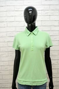 Polo-Donna-FRED-PERRY-Taglia-XL-Blusa-Camicia-Maglia-Manica-Corta-Shirt-Woman