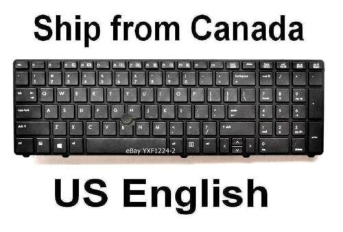 Keyboard for HP EliteBook 8760W 8770W US English 701977-001 701454-001