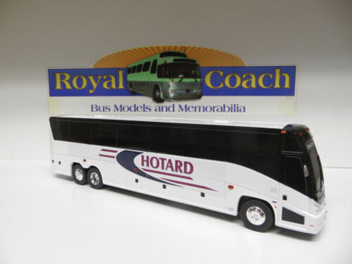 "LA on an 11/"" Brand New Mold MCI /""J/""  Plastic Bank Bus Hotard"