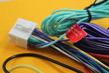 Wire Harness ONLY for Clarion VZ401, VZ-401 (100% Copper- 18 PIN) NEW, #CL18P