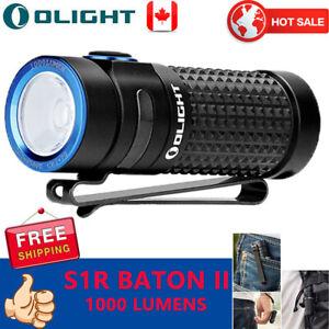 OLIGHT-S1R-Baton-II-EDC-Rechargeable-LED-Flashlight-Waterproof-IPX8-Compac-Light