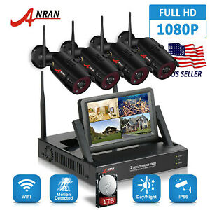Anran-4CH-Sans-Fil-Camera-de-securite-systeme-de-surveillance-HD-1080P-Outdoor-1-To-CCTV