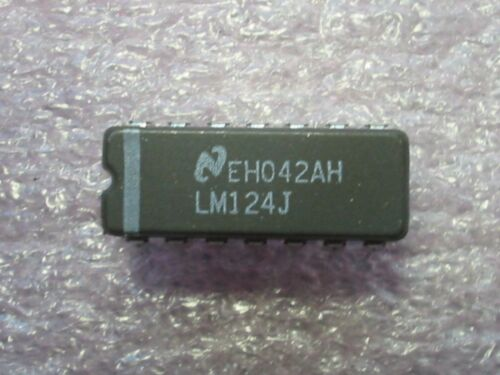 Lm124j operational amplifiers